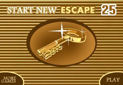 START NEW ESCAPE 025 apk screenshot