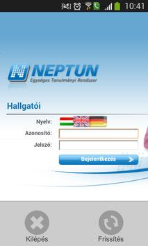 ELTE Neptun screenshot 5