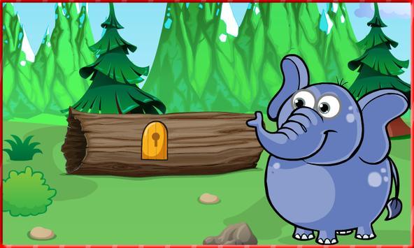 Escape game : Elephant Hungry screenshot 1