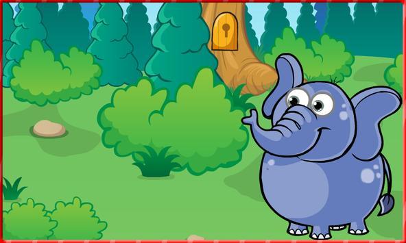 Escape game : Elephant Hungry screenshot 2