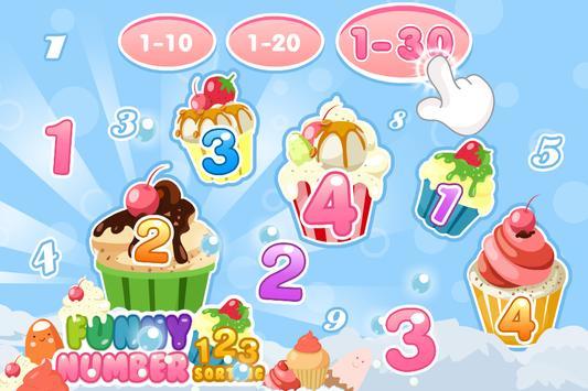 Funny Numbers Sorting apk screenshot