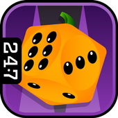 Halloween Backgammon icon
