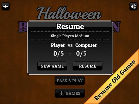 Halloween Backgammon screenshot 9