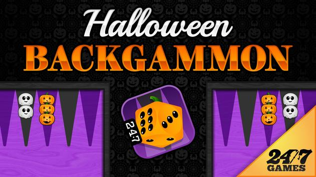 Halloween Backgammon poster