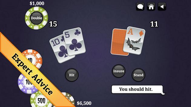 Halloween Blackjack screenshot 3