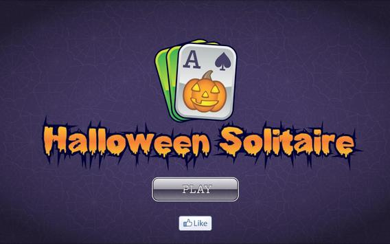 Halloween Solitaire FREE poster