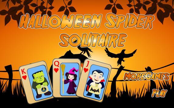 Halloween Spider Solitaire apk screenshot