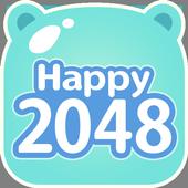Happy 2048 icon