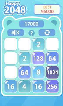 Happy 2048 apk screenshot