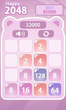 Happy 2048 screenshot 4