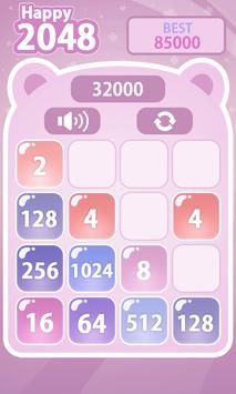 Happy 2048 screenshot 5