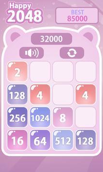 Happy 2048 screenshot 1