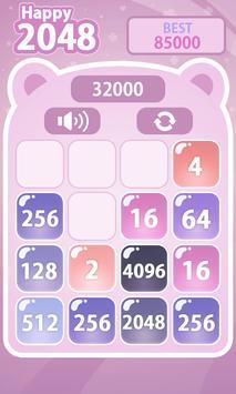 Happy 2048 screenshot 2