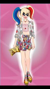 Harley quiin Fashion Dress Up apk screenshot