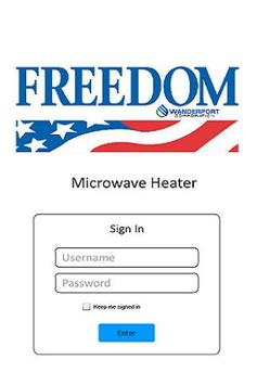 Heater Demo - Freedom poster