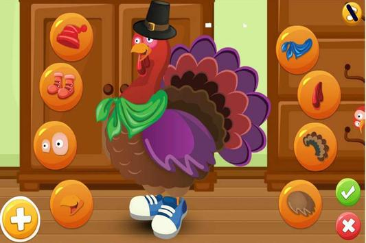 Turkey Dress Up - Animal Games screenshot 1