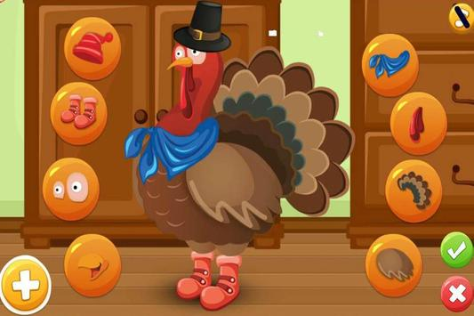 Turkey Dress Up - Animal Games screenshot 4