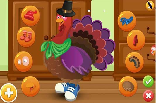 Turkey Dress Up - Animal Games screenshot 9
