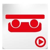 TuDEM CAR animation icon