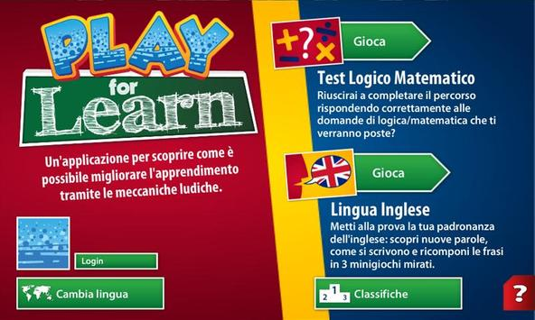 Play For Learn poster