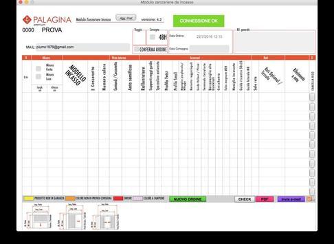 Palagina - Zanzariere Incasso screenshot 2