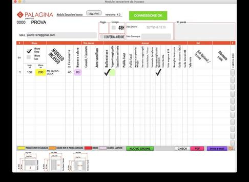 Palagina - Zanzariere Incasso screenshot 4