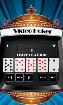 Real Video Poker Android apk screenshot