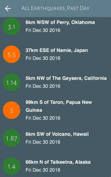 Earthquakes screenshot 1