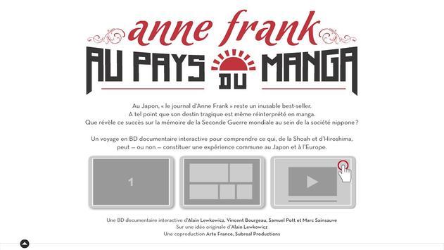 Anne Frank au Pays du Manga apk screenshot