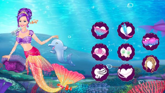 Icy Queen Mermaid Dressup screenshot 7