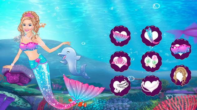 Icy Queen Mermaid Dressup screenshot 8