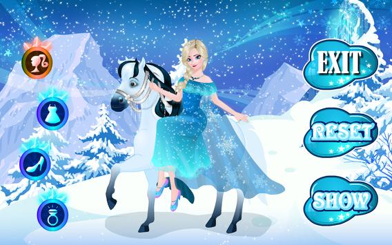 Icy Queen Dressup screenshot 10
