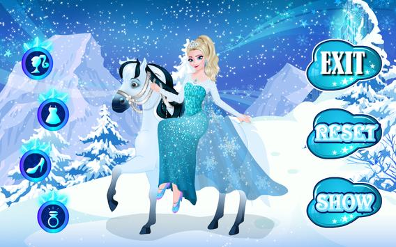 Icy Queen Dressup screenshot 12
