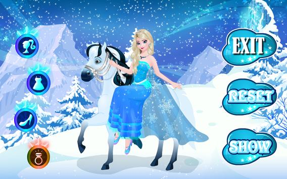 Icy Queen Dressup screenshot 3