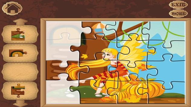 Amazing Fairies Jigsaw Puzzle screenshot 7