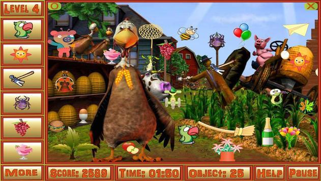 Little Farm Hidden Objects apk screenshot