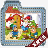 Snow White Kids Puzzle Game icon