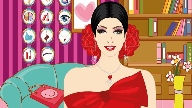 Party Hairstyles Make Up Game screenshot 12
