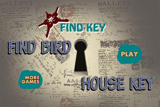 FindBirdHouseKey poster
