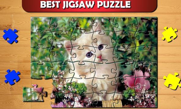 Cute Cat Kitty Jigsaw Puzzle screenshot 1