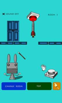 【脱出ゲーム】 脱出うさロボさん screenshot 2