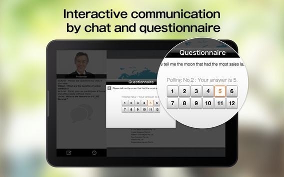 V-CUBE Seminar Mobile Ekran Görüntüsü 4