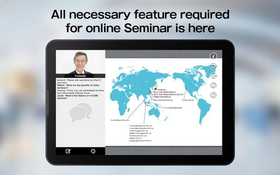 V-CUBE Seminar Mobile Ekran Görüntüsü 6