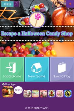 escape a halloween candy shop apk screenshot