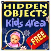 Hidden Objects - Kids Area icon