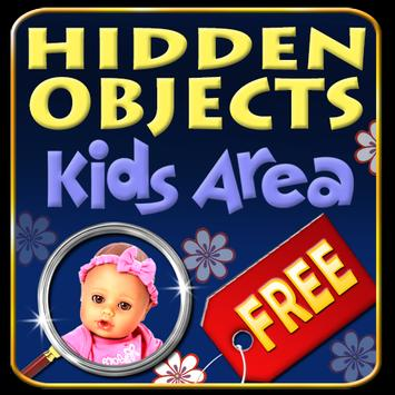 Hidden Objects - Kids Area poster