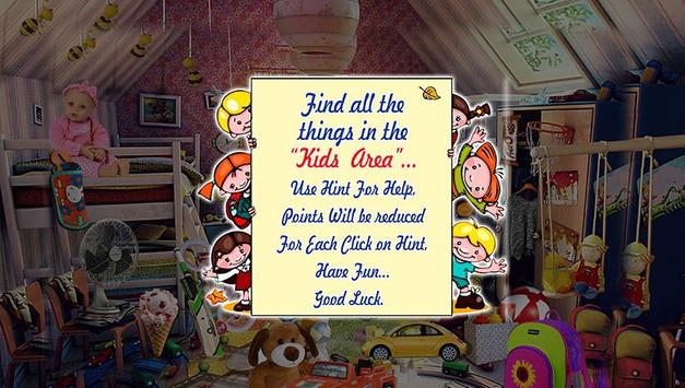 Hidden Objects - Kids Area apk screenshot