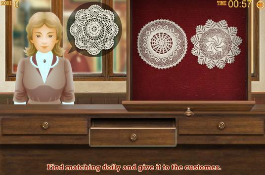 Lace Shop Girl Games screenshot 1
