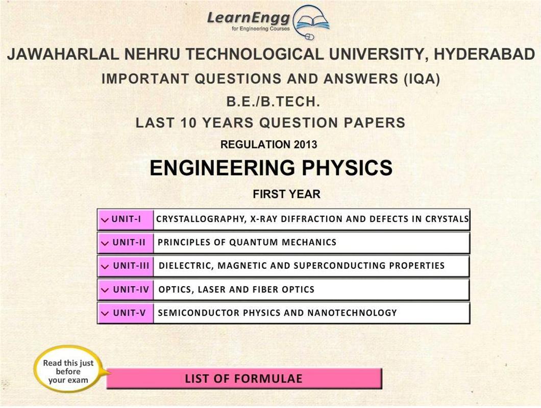 Learn Engineering Physics - Quantum Computing