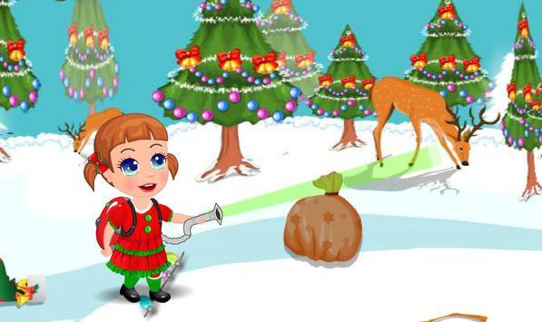 Baby Christmas Clean Up apk screenshot